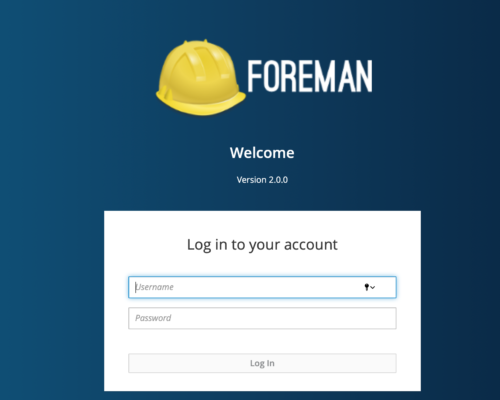 Looking at Foreman 2.0